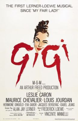 Gigi movie poster (1958) poster MOV_e0a2ad15