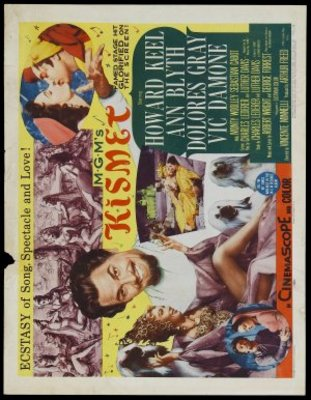 Kismet movie poster (1955) poster MOV_e0c3c85d