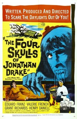 The Four Skulls of Jonathan Drake movie poster (1959) poster MOV_e0eb4281
