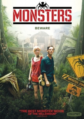 Monsters movie poster (2010) poster MOV_e10054f7