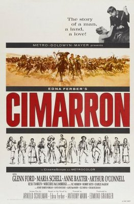 Cimarron movie poster (1960) poster MOV_e1292610