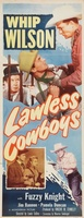 Lawless Cowboys movie poster (1951) picture MOV_e12a2085