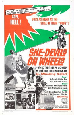 She-Devils on Wheels movie poster (1968) poster MOV_e12f42ba