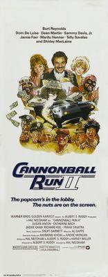 Cannonball Run 2 movie poster (1984) poster MOV_e138ba15