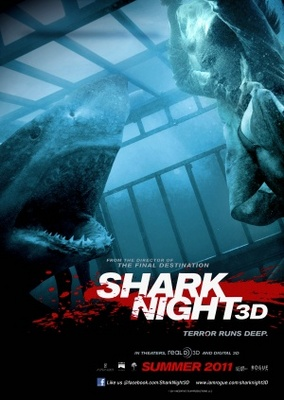 Shark Night 3D movie poster (2011) poster MOV_e146da54