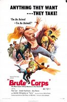 Brute Corps movie poster (1972) picture MOV_e151d23d