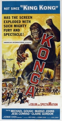 Konga movie poster (1961) poster MOV_e15acb72