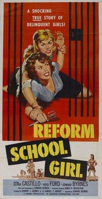 Reform School Girl movie poster (1957) poster MOV_e1626e4c
