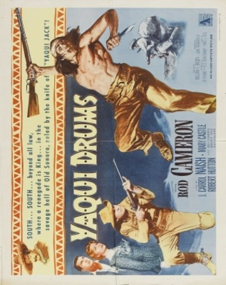 Yaqui Drums movie poster (1956) poster MOV_e17c0098