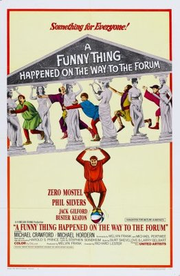 A Funny Thing Happened on the Way to the Forum movie poster (1966) poster MOV_e190a454