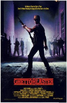 Ghetto Blaster movie poster (1989) poster MOV_e1959247
