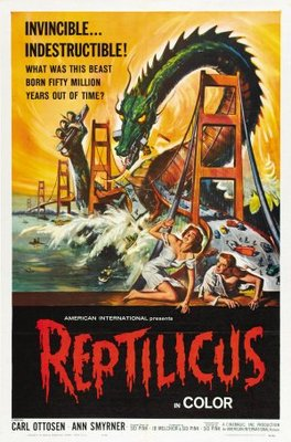 Reptilicus movie poster (1961) poster MOV_e1b08e67