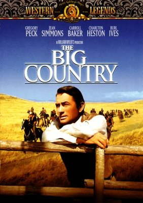 The Big Country movie poster (1958) poster MOV_e1c3ee9f