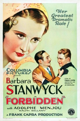 Forbidden movie poster (1932) poster MOV_e1d7ce73