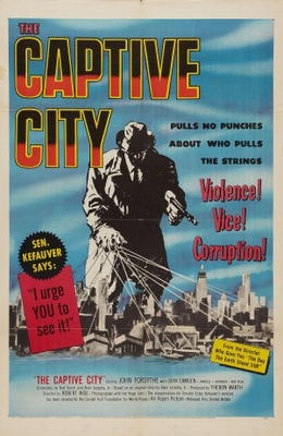 The Captive City movie poster (1952) poster MOV_e1f31a63
