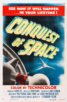 Conquest of Space movie poster (1955) picture MOV_06f5ddcc
