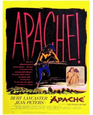 Apache movie poster (1954) poster MOV_e217b562