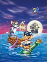 Tom and Jerry: Shiver Me Whiskers movie poster (2006) picture MOV_e2343c8a