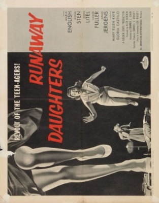 Runaway Daughters movie poster (1956) poster MOV_e2346d6b
