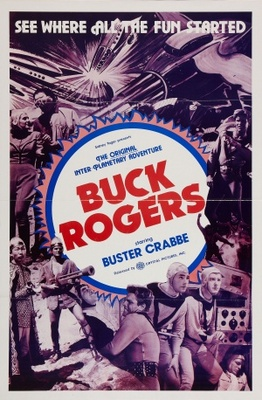 Buck Rogers movie poster (1939) poster MOV_e243797c