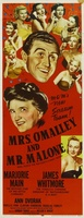 Mrs. O'Malley and Mr. Malone movie poster (1950) picture MOV_e25100f9