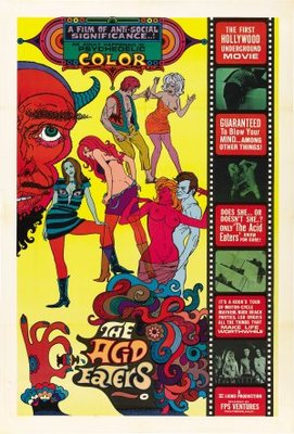 The Acid Eaters movie poster (1968) poster MOV_e25503c0