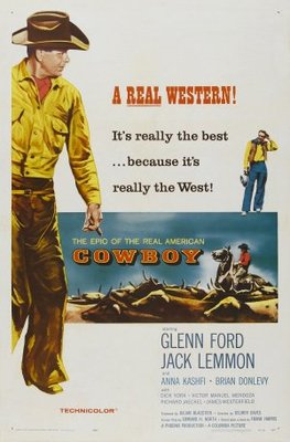Cowboy movie poster (1958) poster MOV_e25e14df