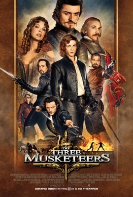 The Three Musketeers movie poster (2011) poster MOV_e25e8303