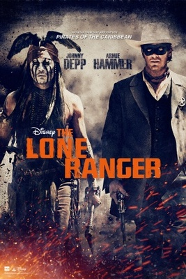 The Lone Ranger movie poster (2013) poster MOV_e27a3ab1