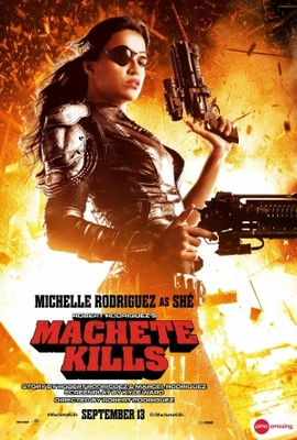 Machete Kills movie poster (2013) poster MOV_e29668b7