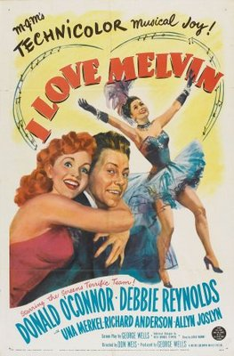 I Love Melvin movie poster (1953) poster MOV_e2984dbd