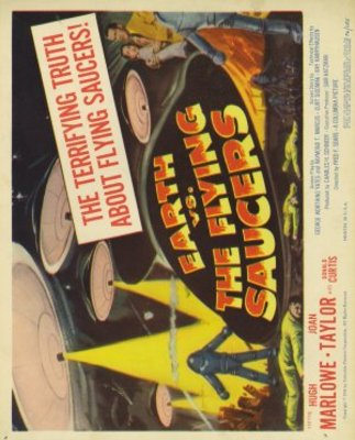 Earth vs. the Flying Saucers movie poster (1956) poster MOV_e298a546