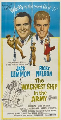 The Wackiest Ship in the Army movie poster (1960) poster MOV_e29cf730