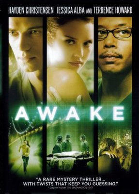 Awake movie poster (2007) poster MOV_e2e7b509