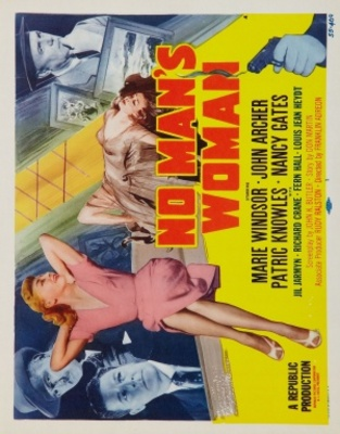 No Man's Woman movie poster (1955) poster MOV_e2fe8ddd