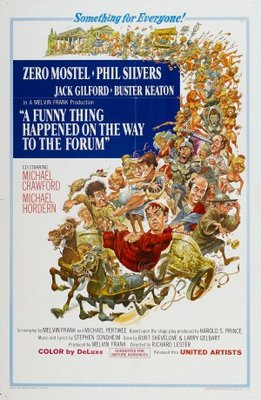 A Funny Thing Happened on the Way to the Forum movie poster (1966) poster MOV_e3044e39