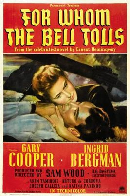For Whom the Bell Tolls movie poster (1943) poster MOV_e30cbcc7