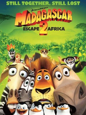 Madagascar: Escape 2 Africa movie poster (2008) poster MOV_e31ed557