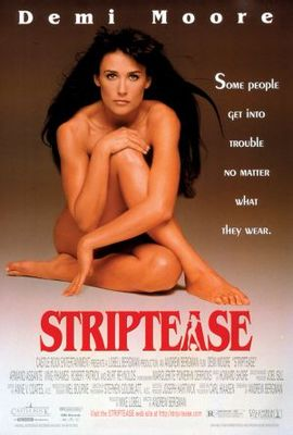 Striptease movie poster (1996) poster MOV_e3225646