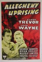 Allegheny Uprising movie poster (1939) picture MOV_fe9fc70c