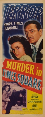 Murder in Times Square movie poster (1943) poster MOV_e331cd7d