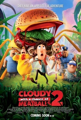 Cloudy with a Chance of Meatballs 2 movie poster (2013) poster MOV_e3349d98