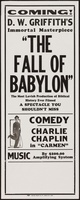 The Fall of Babylon movie poster (1919) picture MOV_e334cc19