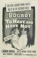 To Have and Have Not movie poster (1944) picture MOV_e34e2936