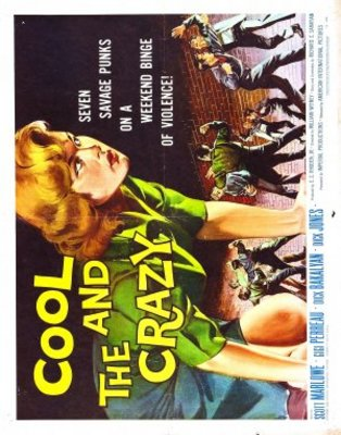 The Cool and the Crazy movie poster (1958) poster MOV_e368ad13