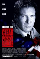 Clear And Present Danger movie poster (1994) picture MOV_e39100d7