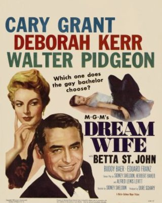Dream Wife movie poster (1953) poster MOV_e397f166