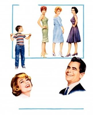 The Courtship of Eddie's Father movie poster (1963) poster MOV_e39b9b4f