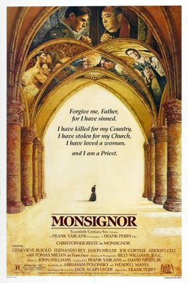 Monsignor movie poster (1982) poster MOV_e3a157a6