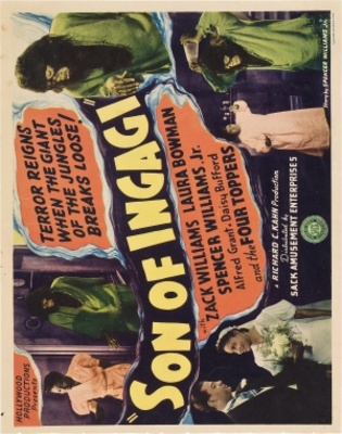 Son of Ingagi movie poster (1940) poster MOV_e3a63536